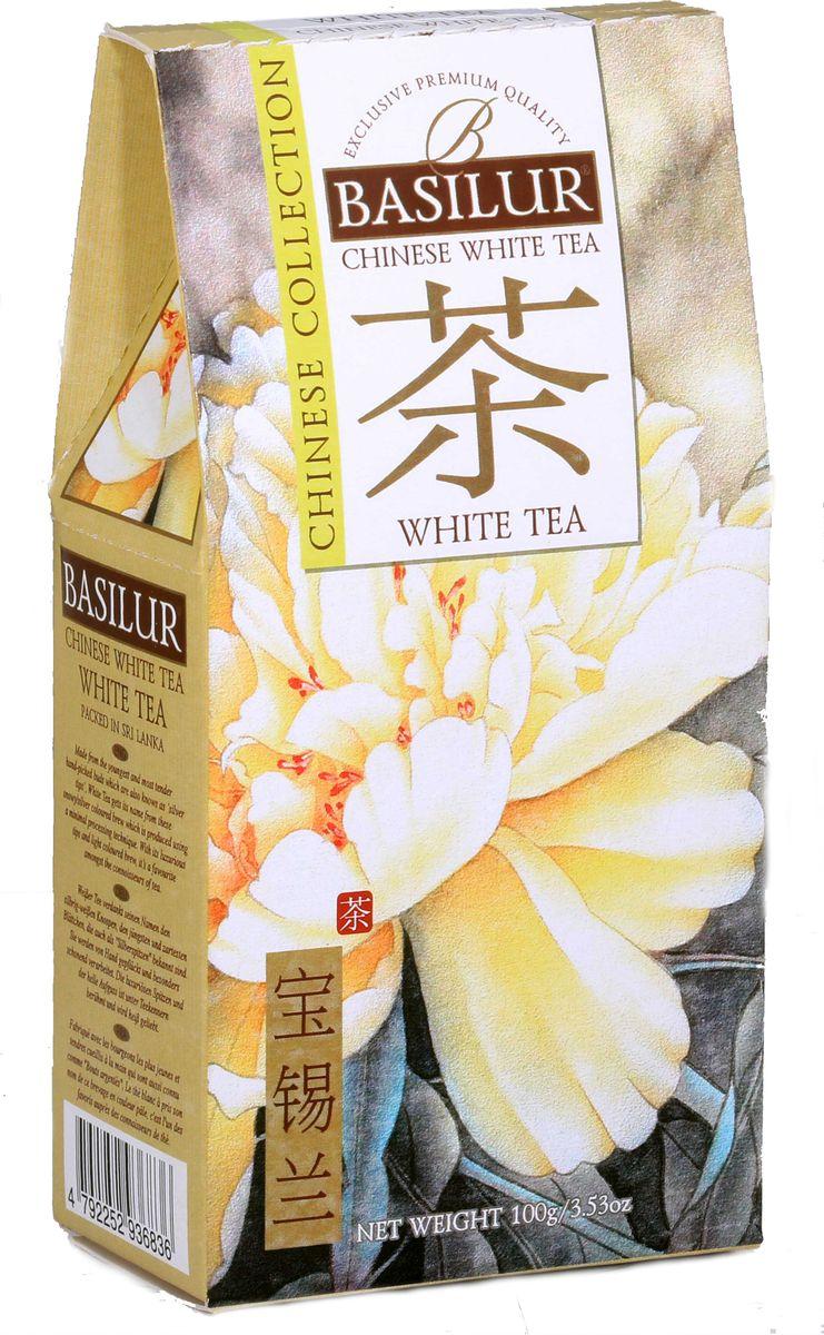 Basilur White Tea белый листовой чай, 100 г basilur frosty afternoon черный листовой чай 100 г жестяная банка