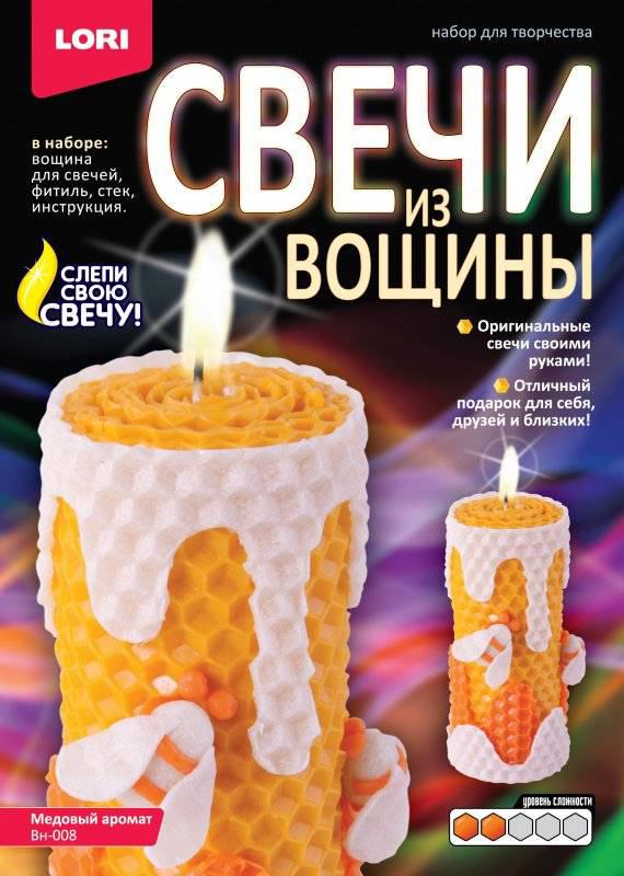 LoriНабор для детского творчества Свечи из вощины Медовый аромат Lori
