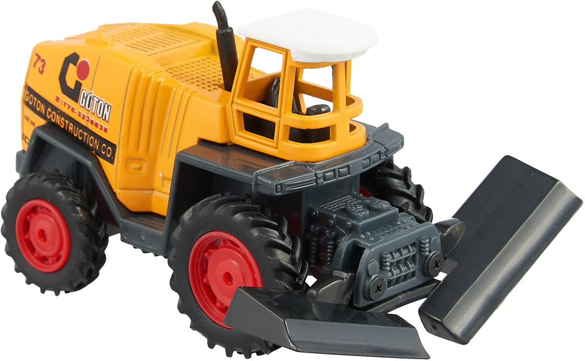 Pioneer Toys Машинка Строительная техника цвет трактора желтый pioneer toys машинка строительная техника каток