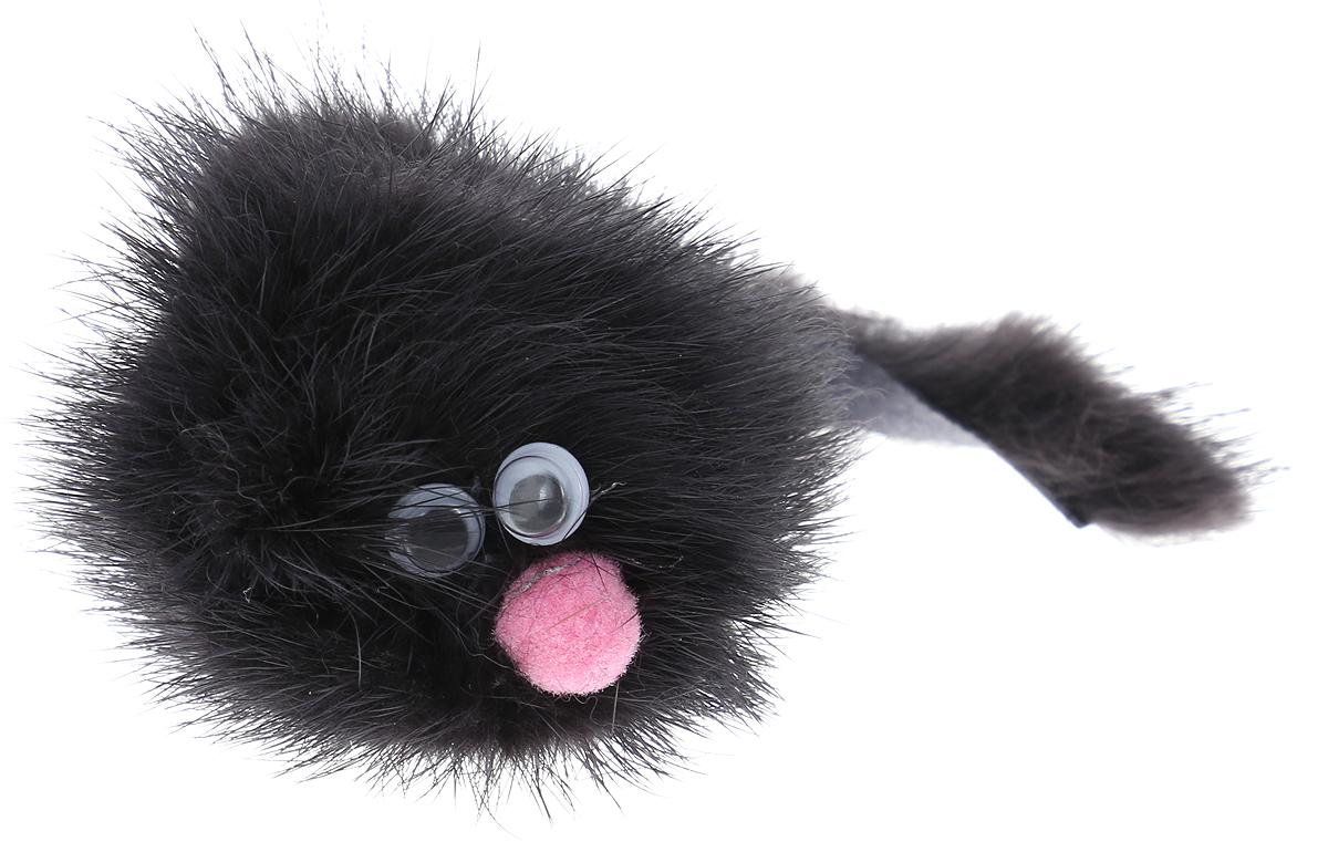 Игрушка для кошек GoSi Зверек из норки, 5 см игрушка дразнилка для кошек gosi лапка норки длина 50 см