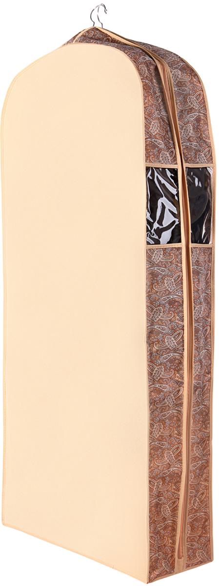 Чехол для одежды Cofret Русский шик, двойной 60 x 130 x 20 см пуховики