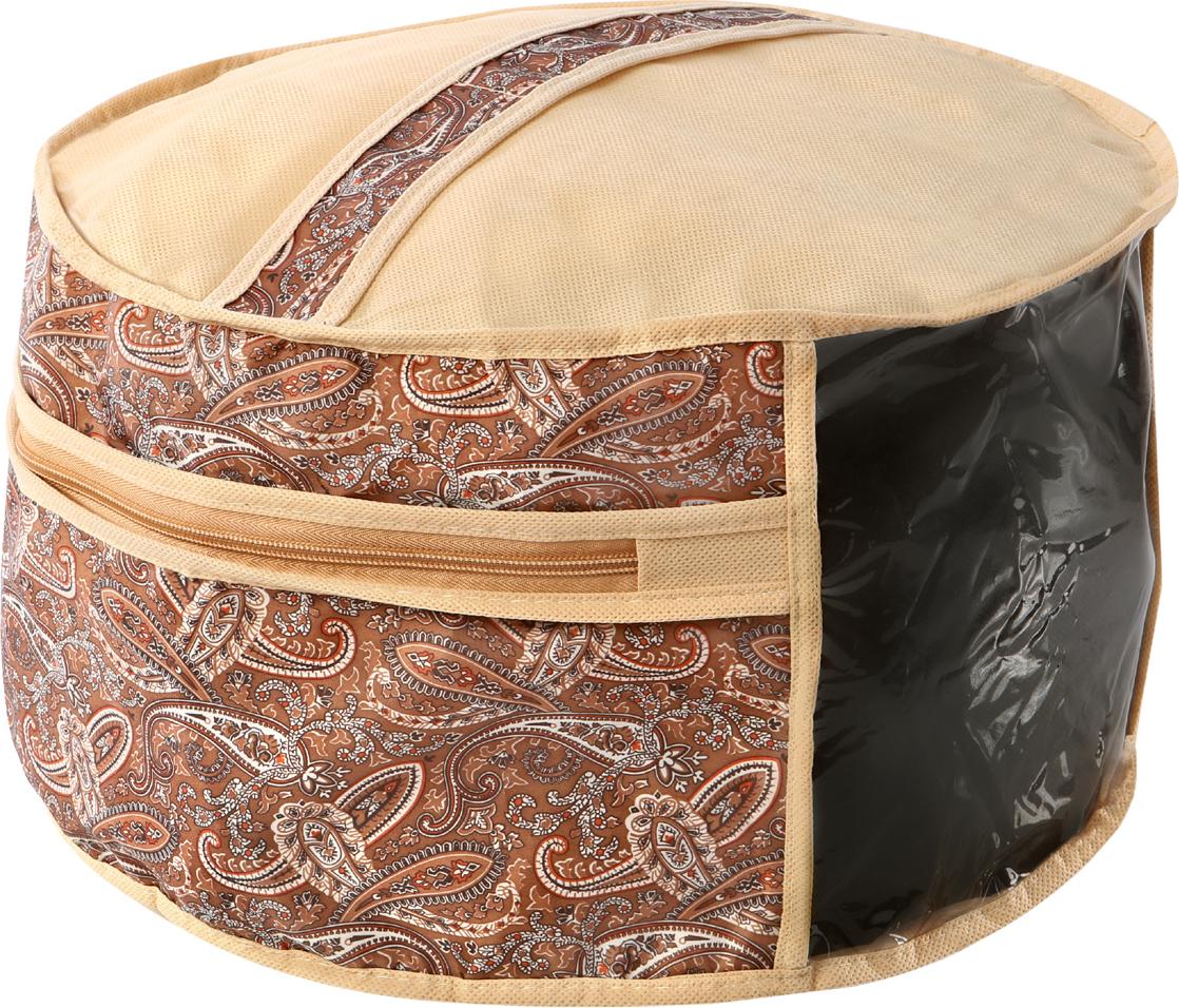 Чехол для головных уборов Cofret Русский шик, 35 x 25 см для шитья головного убора нужна заготовка
