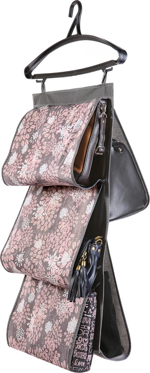 Кофр для сумок Cofret Серебро, двусторонний, 5 карманов 40 x 70 см makibes tempered glass for meizu m3 note meilan note 3 gold