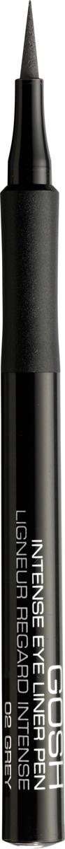 Gosh Подводка-фломастер для глаз Intense, 1 мл, тон №02 gosh intense eye liner pen
