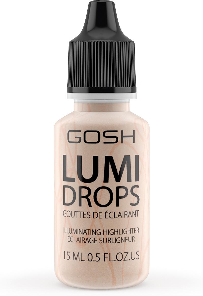 Gosh Люминайзер-флюид для лица Lumi Drops, 15 мл, тон №002