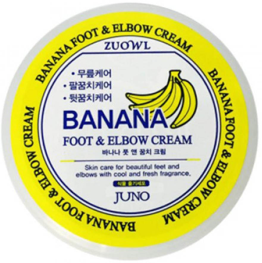 Крем для ног и локтей с бананом, 100 мл, Juno