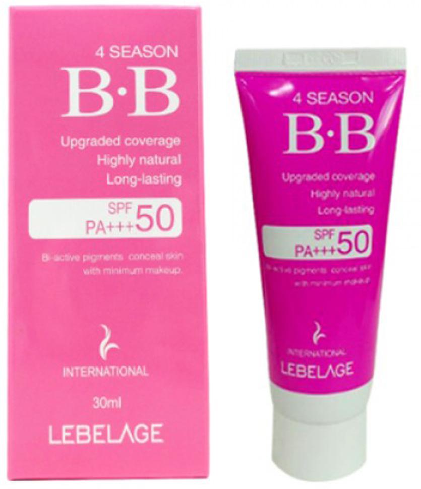Солнцезащитный ВВ-крем SPF50/PA+++, 30 мл, Lebelage the skin house multi function smart bb солнцезащитный вв крем 30 мл
