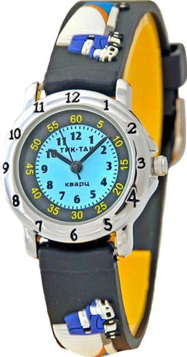 Часы наручные детские Тик-Так Грузовик, цвет: серый. 105-2 часы детские наручные