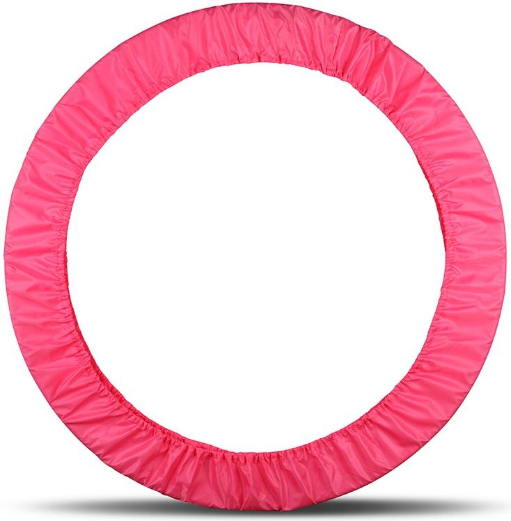 Чехол для обруча Indigo, цвет: розовый, диаметр 60 х 90 см сумка чехол для обруча indigo цвет салатовый диаметр 60 х 90 см