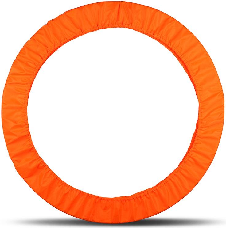 Чехол для обруча Indigo, цвет: оранжевый, диаметр 60 х 90 см сумка чехол для обруча indigo цвет салатовый диаметр 60 х 90 см