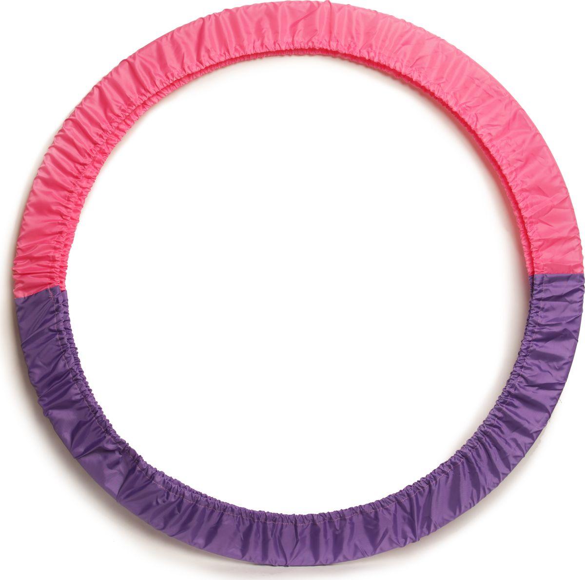 Чехол для обруча Indigo, цвет: фиолетово-розовый, диаметр 60 х 90 см сумка чехол для обруча indigo цвет салатовый диаметр 60 х 90 см