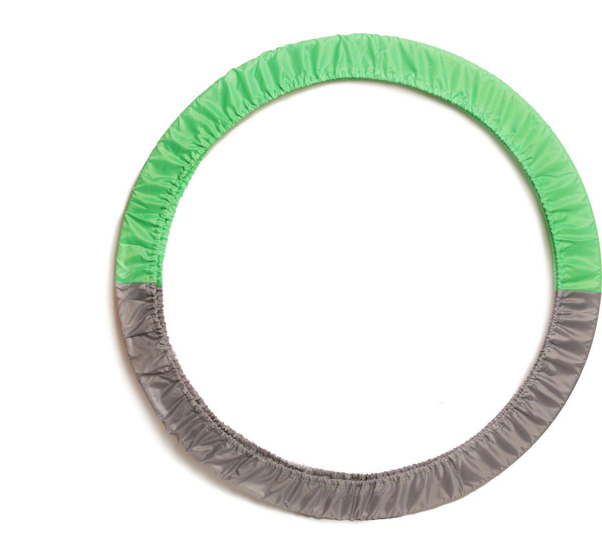 Чехол для обруча Indigo, цвет: салатово-серый, диаметр 60 х 90 см сумка чехол для обруча indigo цвет салатовый диаметр 60 х 90 см