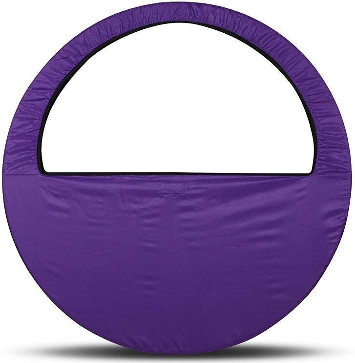 Сумка-чехол для обруча Indigo, цвет: фиолетовый, диаметр 60 х 90 см сумка чехол для обруча indigo цвет салатовый диаметр 60 х 90 см