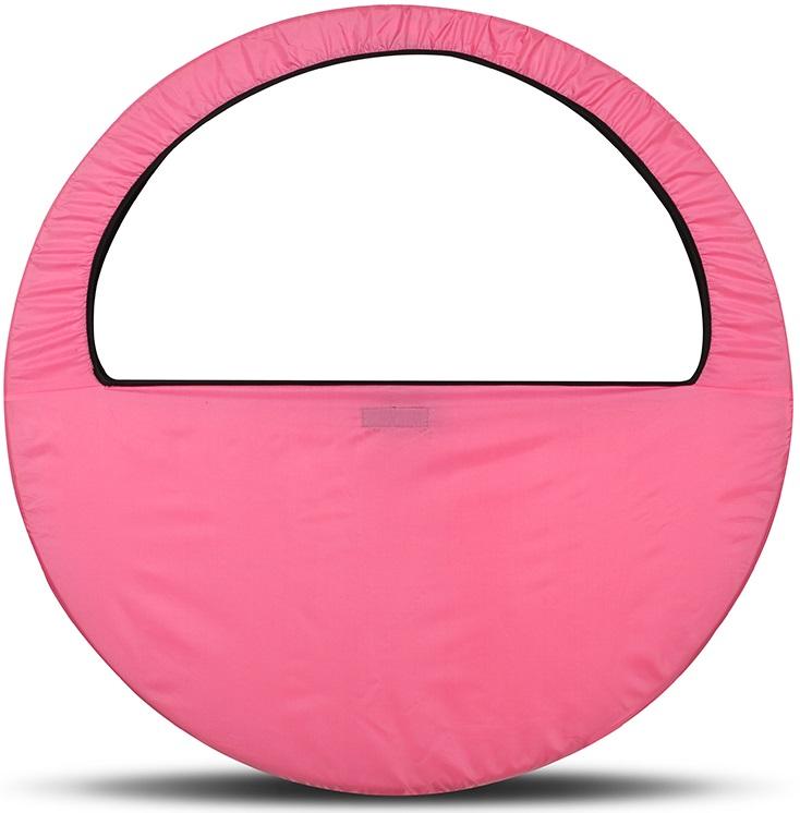 Сумка-чехол для обруча Indigo, цвет: розовый, диаметр 60 х 90 см сумка чехол для обруча indigo цвет салатовый диаметр 60 х 90 см
