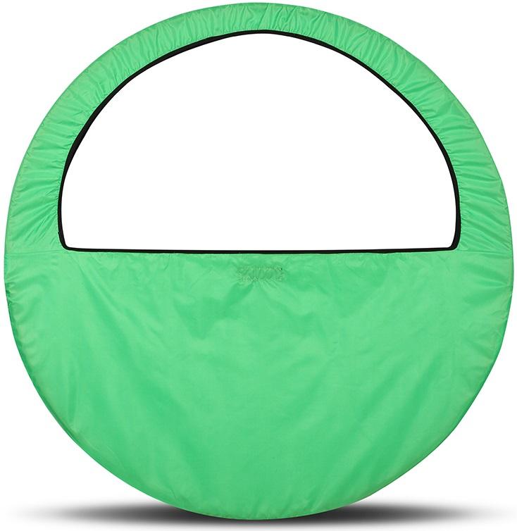 Сумка-чехол для обруча Indigo, цвет: салатовый, диаметр 60 х 90 см сумка чехол для обруча indigo цвет салатовый диаметр 60 х 90 см