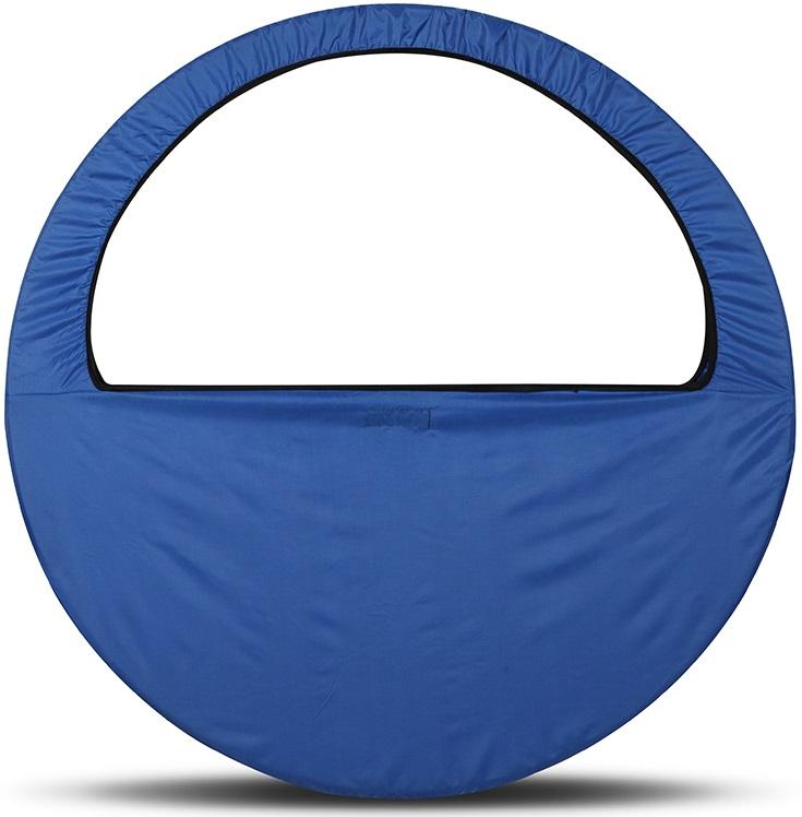 Сумка-чехол для обруча Indigo, цвет: синий, диаметр 60 х 90 см сумка чехол для обруча indigo цвет салатовый диаметр 60 х 90 см