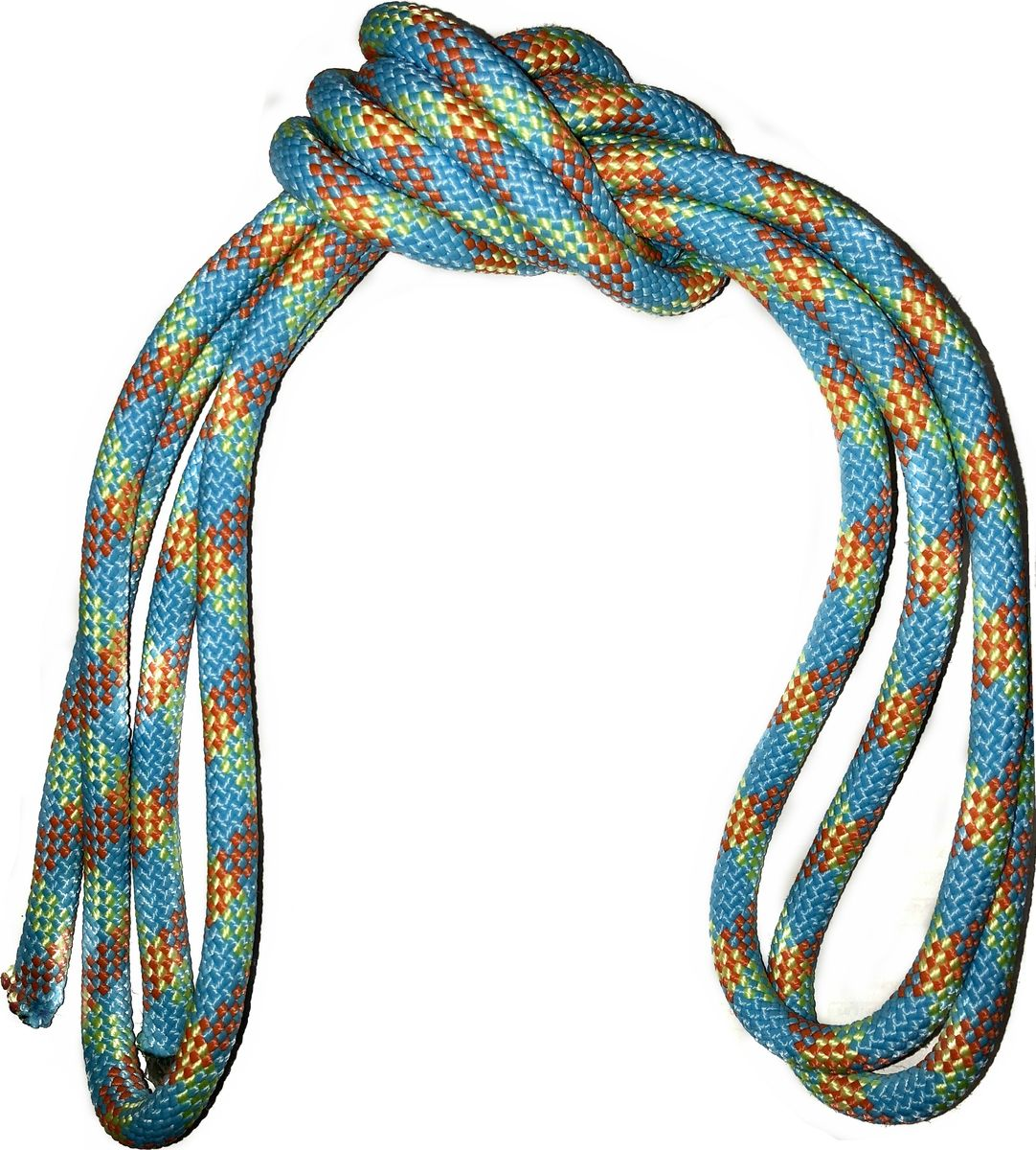 Скакалка гимнастическая Indigo, утяжеленная, цвет: разноцветный, 3 м. 00022411 мяч для художественной гимнастики indigo силиконовый цвет разноцветный диаметр 15 см