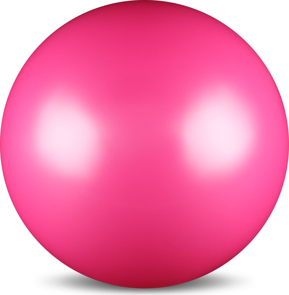 Мяч для художественной гимнастики Indigo, силиконовый, цвет: фуксия, диаметр 15 см цена