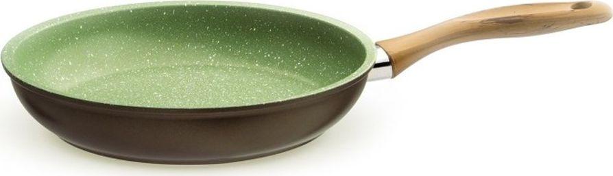 """Сковорода Giannini """"Vegetalia"""", цвет: зеленый. Диаметр 28 см"""
