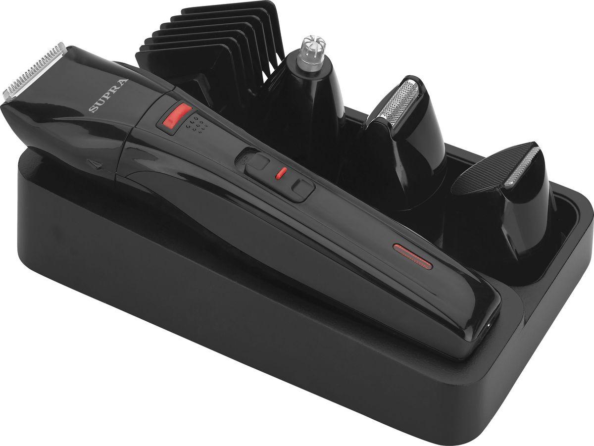 Машинка для стрижки Supra RS-412, 11472, черный бритва supra rs 204 чёрный