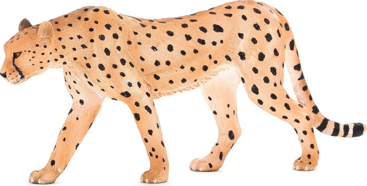 Mojo Фигурка Гепард самец mojo фигурка гепард с детенышом в пасти