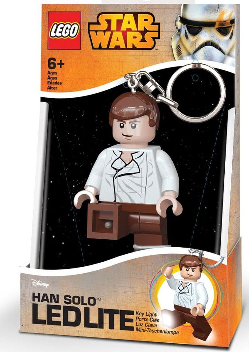 LEGO Брелок-фонарик для ключей Star Wars Хан Соло usb перезаряжаемый высокой яркости ударопрочный фонарик дальнего света конвой sos факел мощный самозащита 18650 батареи