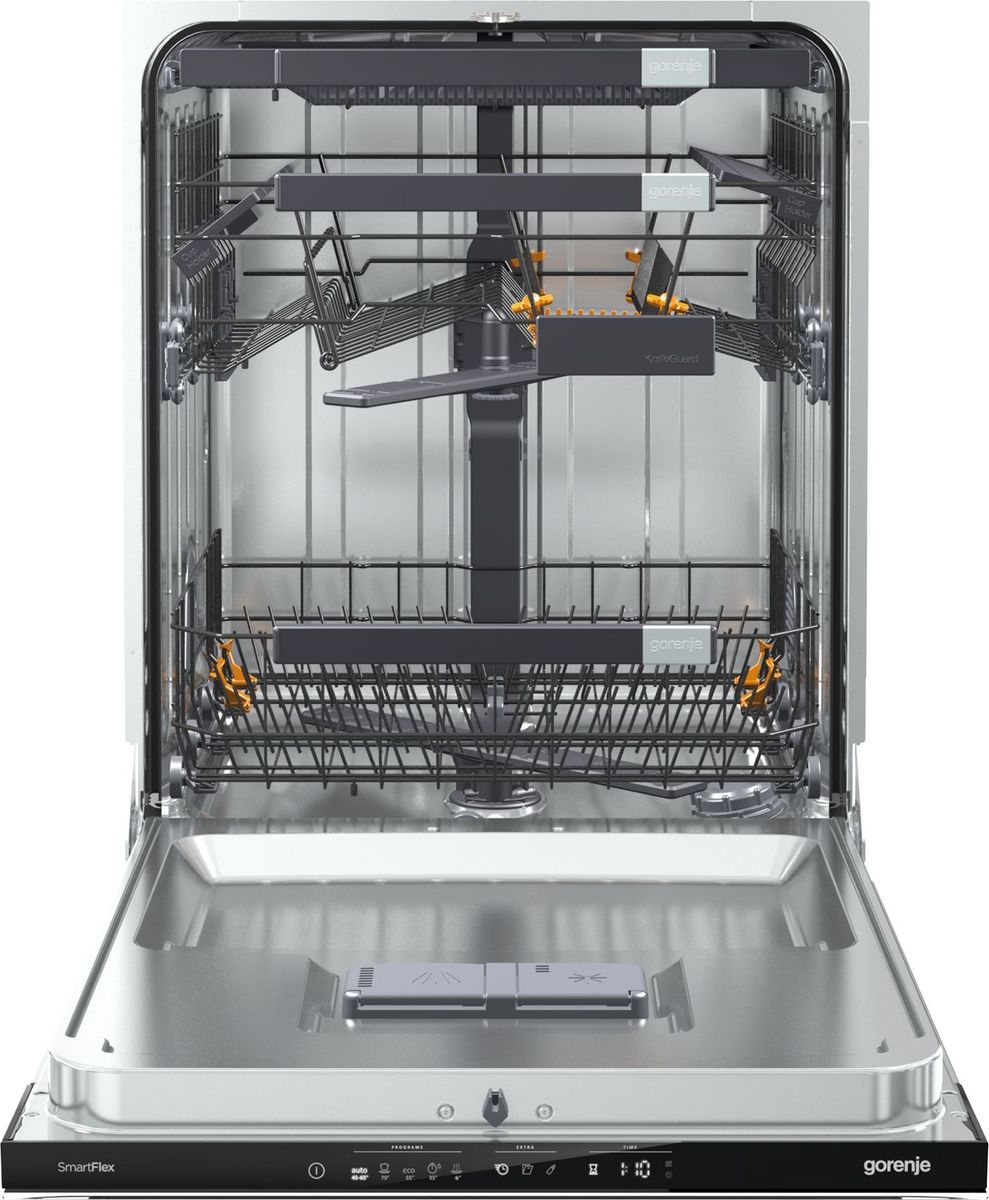Посудомоечная машина Gorenje GV60ORAB, 90000005023, встраиваемая, черный Gorenje