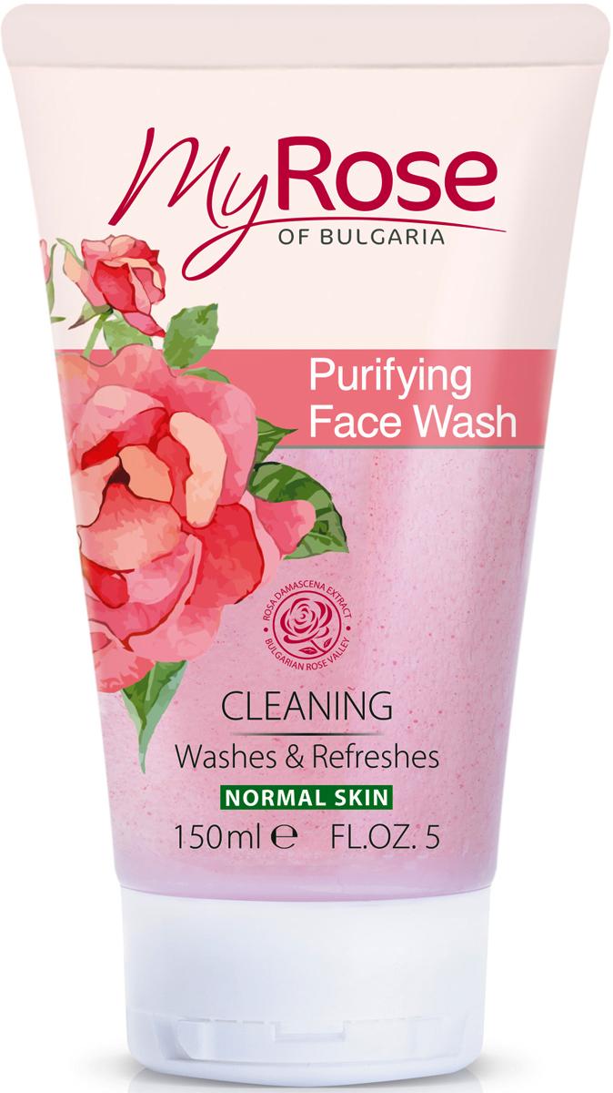 My Rose of BulgariaГель очищающий для лица Purifying Face Wash, 150 мл My Rose of Bulgaria