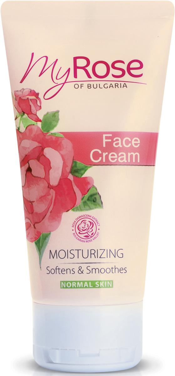 My Rose of Bulgaria Крем для лица дневной увлажняющий Face Cream, 50 мл недорго, оригинальная цена
