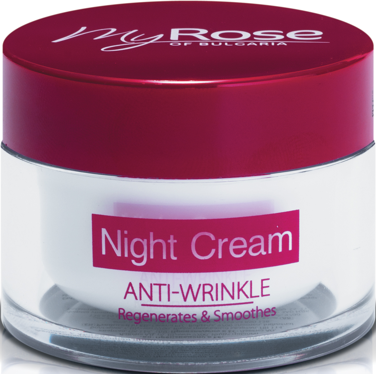 My Rose of Bulgaria Крем для лица ночной против морщин Anti-Wrinkle Night Cream, 50 мл крем для ухода за кожей neogen ad171 c307c крем для лица от морщин agecure anti wrinkle face cream 45 мл