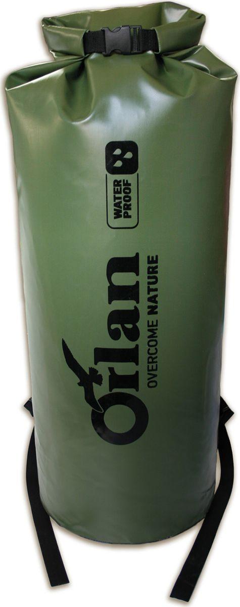 Драйбег Orlan Экстрим, цвет: оливковый, 80 л гермомешок orlan компакт цвет темно синий 10 л