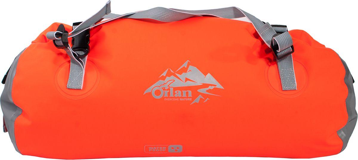 Гермосумка Orlan Экстрим, цвет: оранжевый, 40 л сумка велосипедная orlan экстрим герметичная цвет желтый 30 л