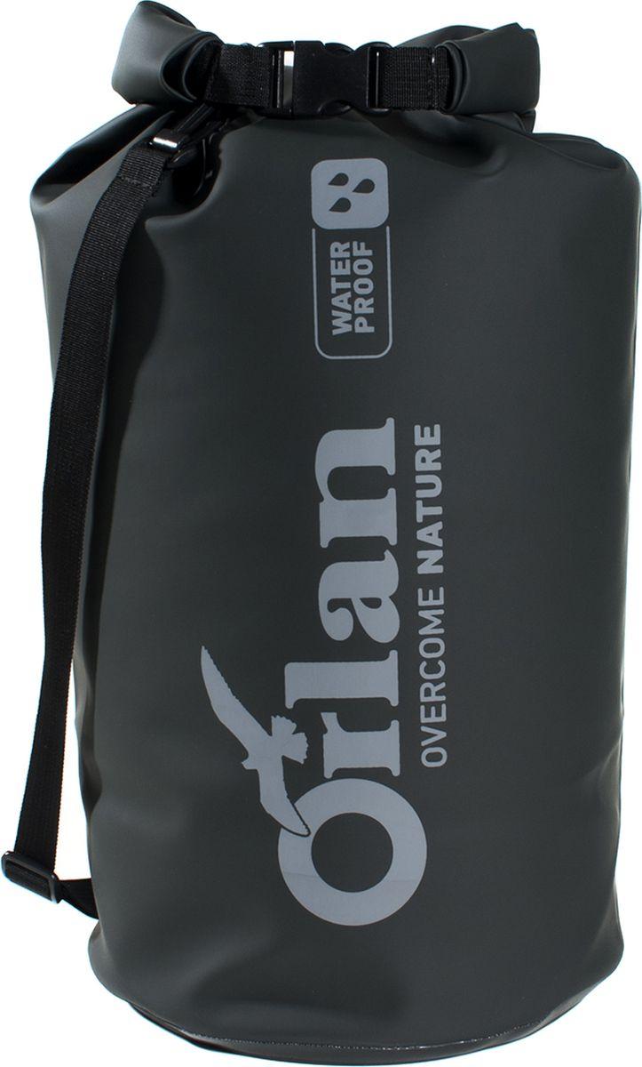 Гермомешок Orlan Экстрим, цвет: черный, 15 л сумка велосипедная orlan экстрим герметичная цвет желтый 30 л