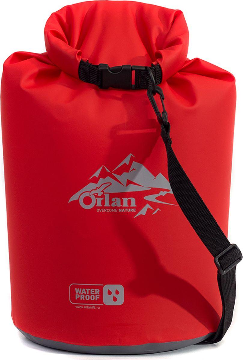 Гермомешок Orlan Экстрим, цвет: красный, 15 л сумка велосипедная orlan экстрим герметичная цвет желтый 30 л