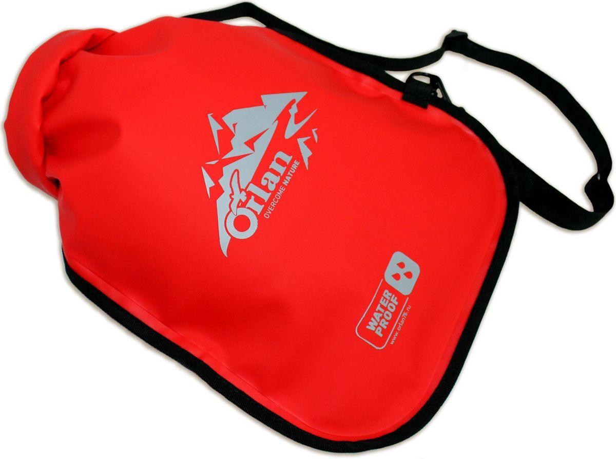 Гермомешок Orlan Компакт, цвет: красный, 45 л гермомешок orlan компакт цвет темно синий 10 л