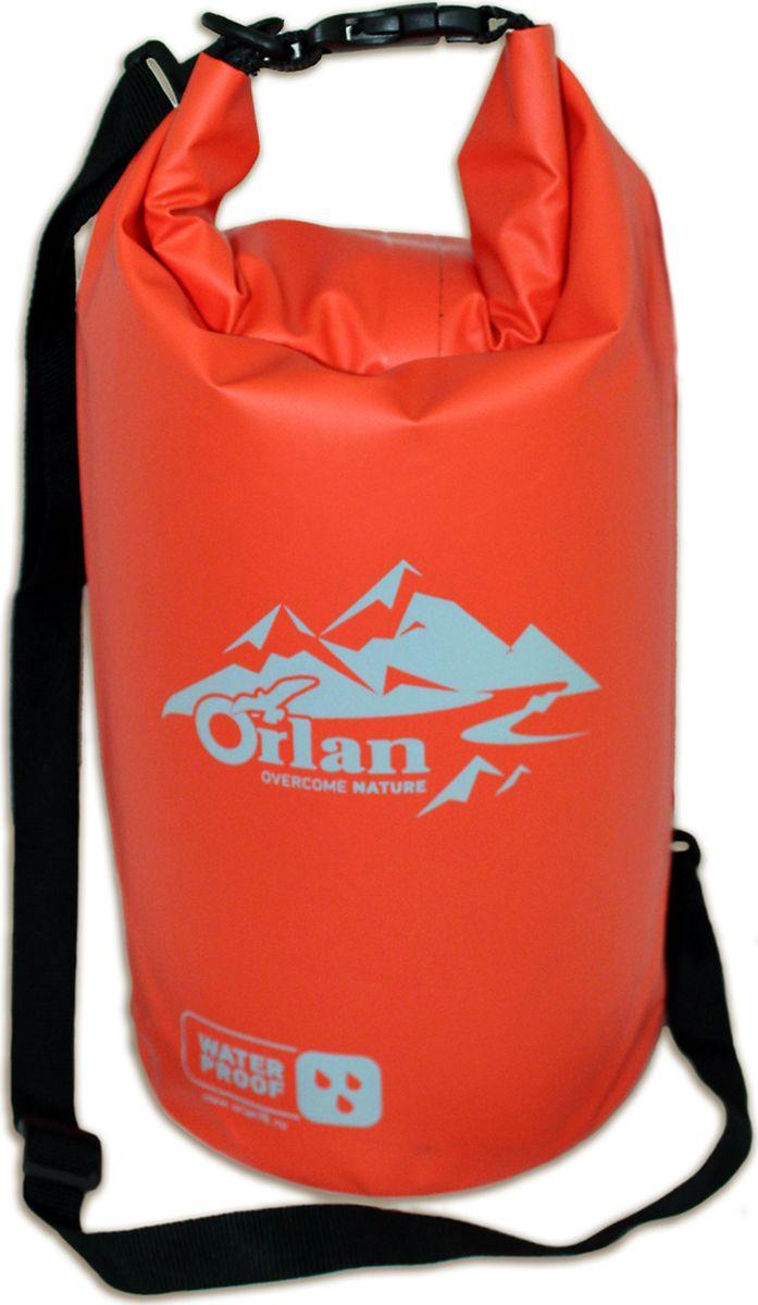 Гермомешок Orlan Экстрим, цвет: оранжевый, 5 л сумка велосипедная orlan экстрим герметичная цвет желтый 30 л
