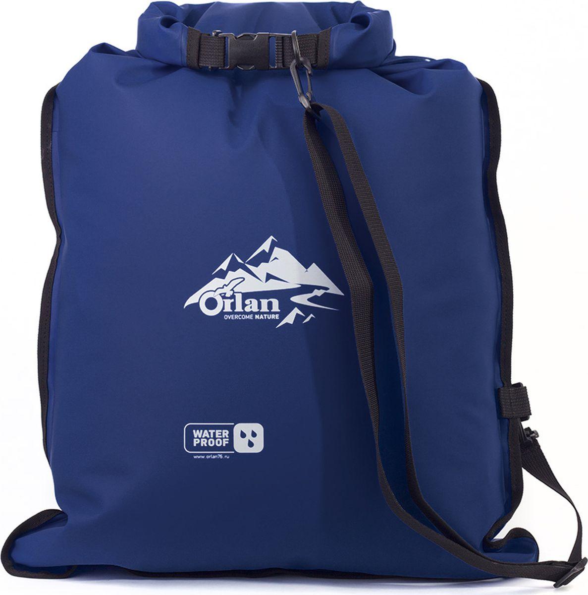 Гермомешок Orlan Компакт, цвет: синий, 45 л гермомешок orlan компакт цвет темно синий 10 л