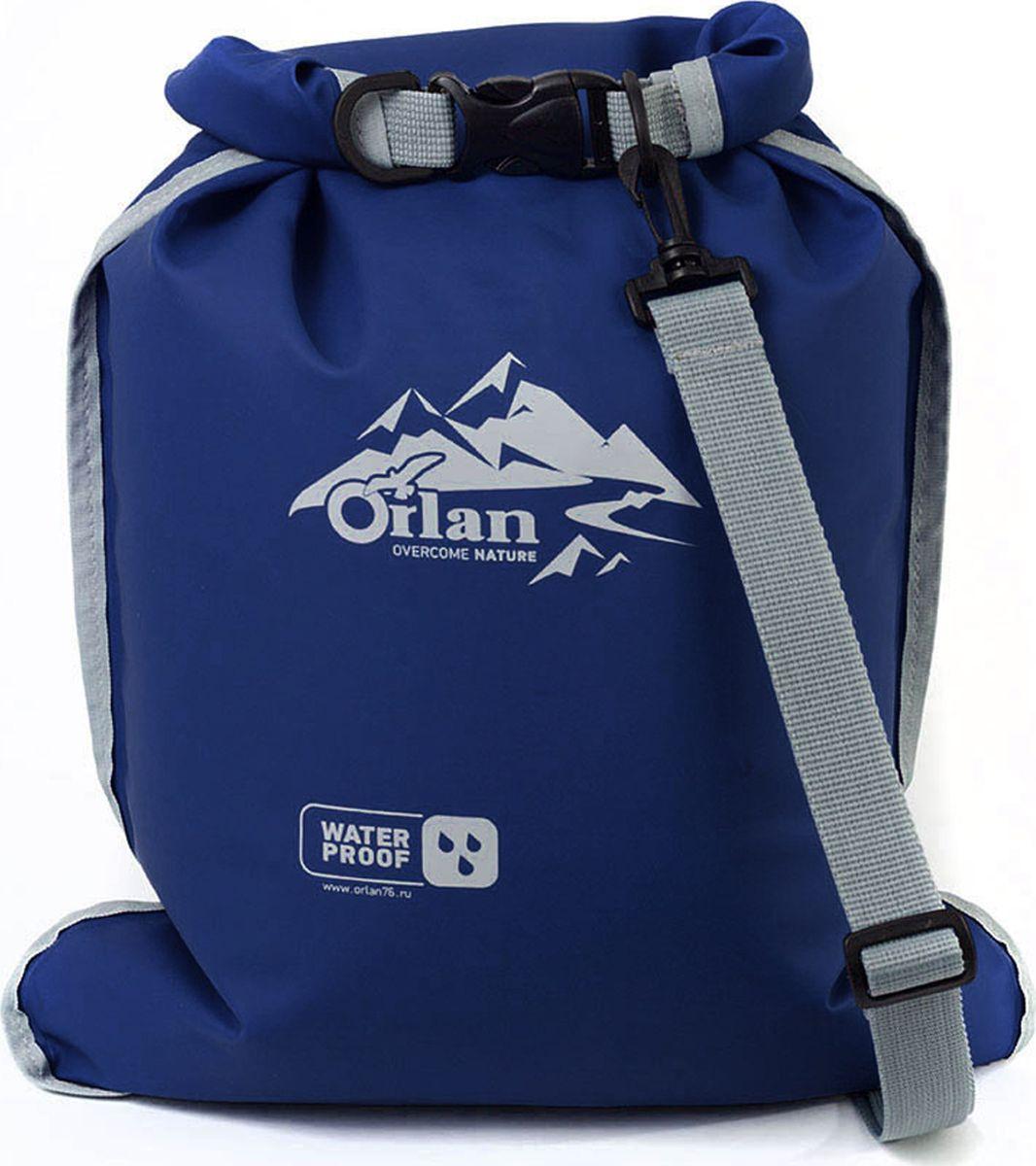 Гермомешок Orlan Компакт, цвет: синий, 5л гермомешок orlan компакт цвет темно синий 10 л