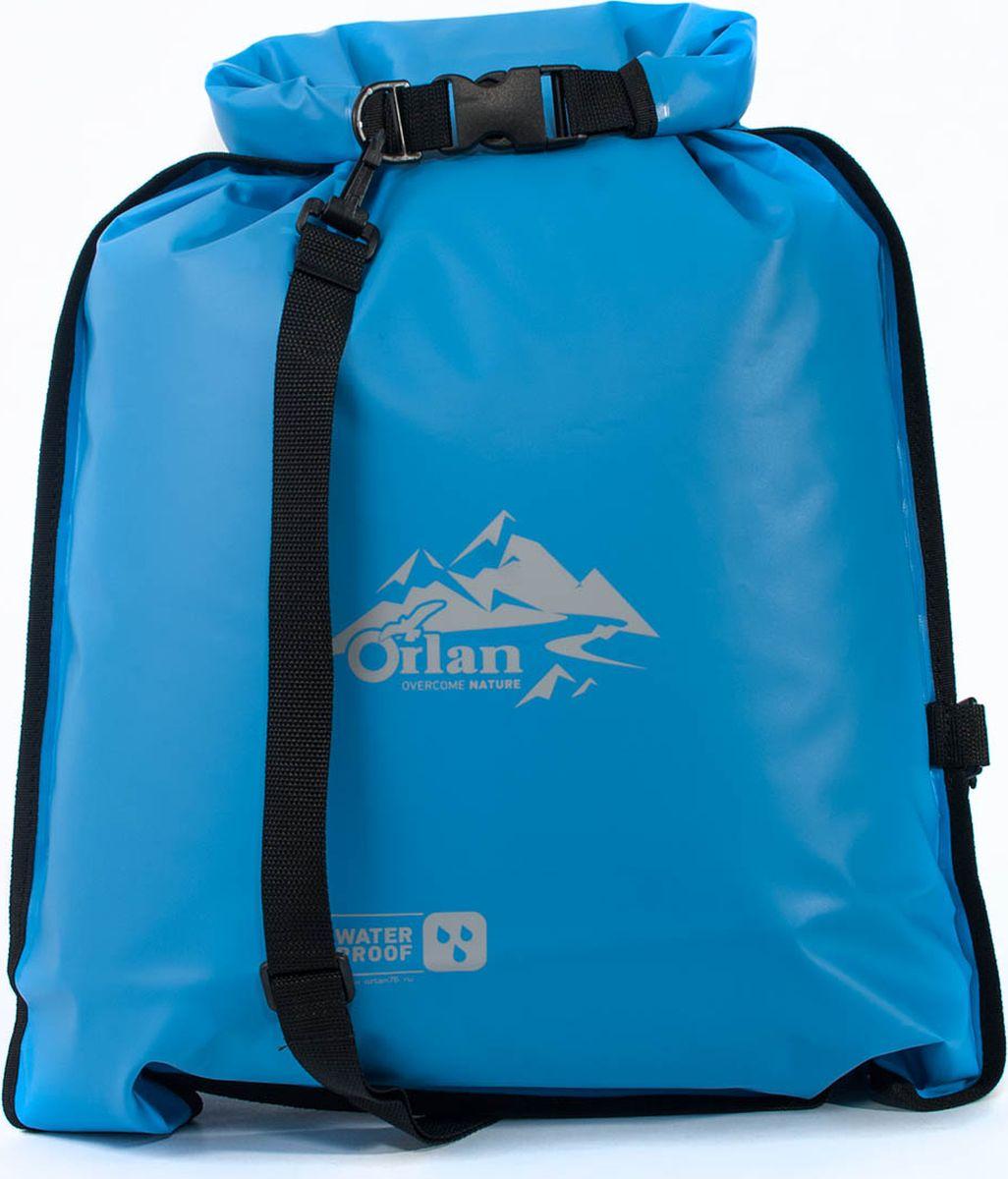 Гермомешок Orlan Компакт, цвет: голубой, 45 л гермомешок orlan компакт цвет темно синий 10 л