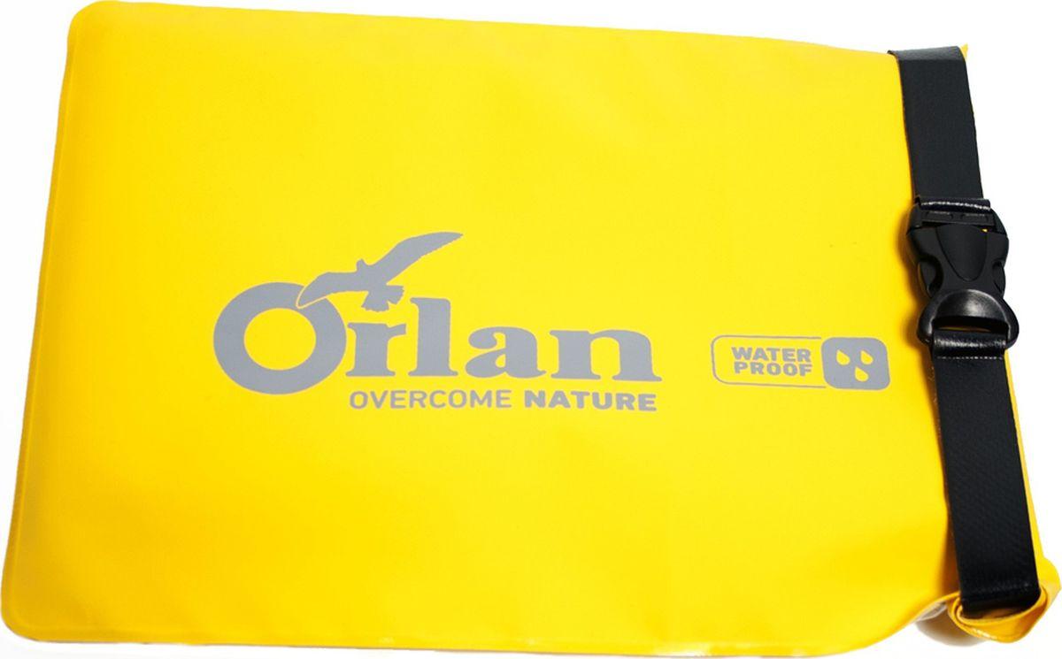 Фото - Гермочехол под планшет Orlan Экстрим, цвет: желтый баул для мотоциклов и велосипедов orlan экстрим цвет желтый черный 10 л