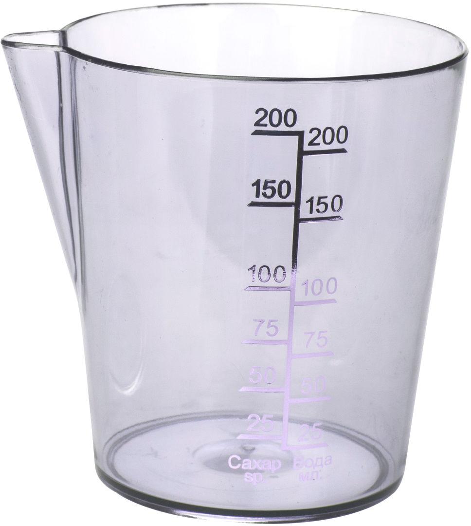 Емкость мерная Plast Team, цвет: натуральный, 0,2 л емкость мерная plast team цвет натуральный 0 2 л