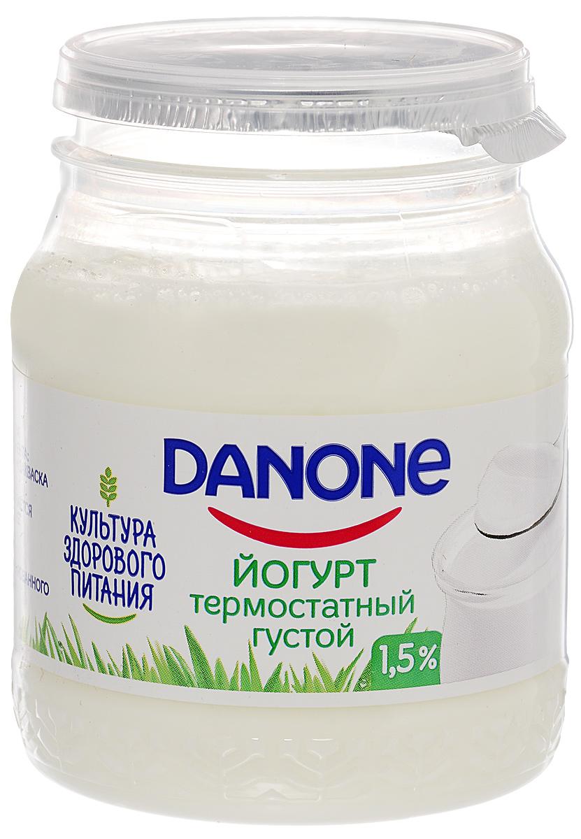 Danone Биойогурт густой термостатный 1,5%, 250 г