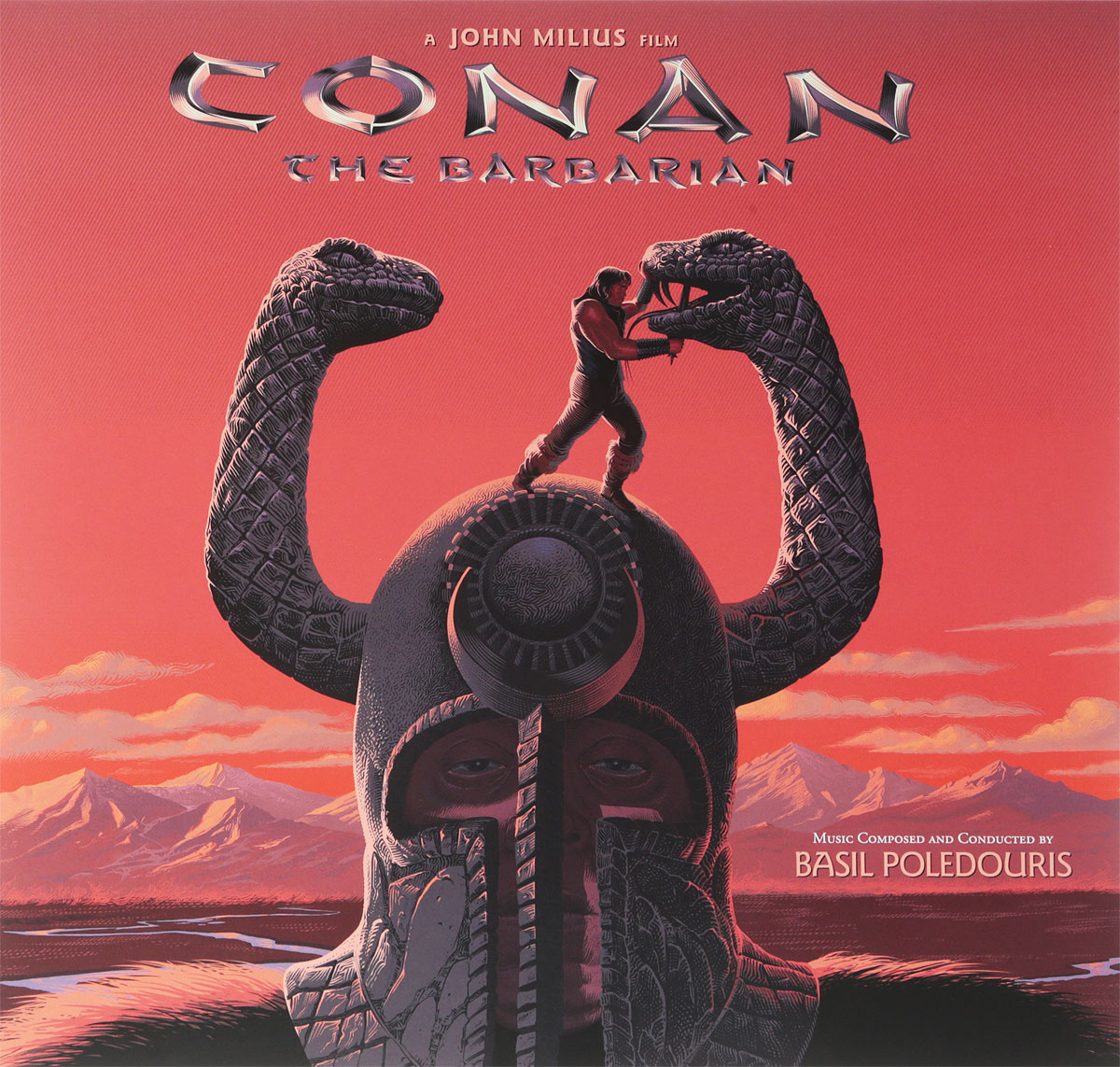 Basil Poledouris. Conan The Barbarian (LP) basil lubbock the blackwall frigates