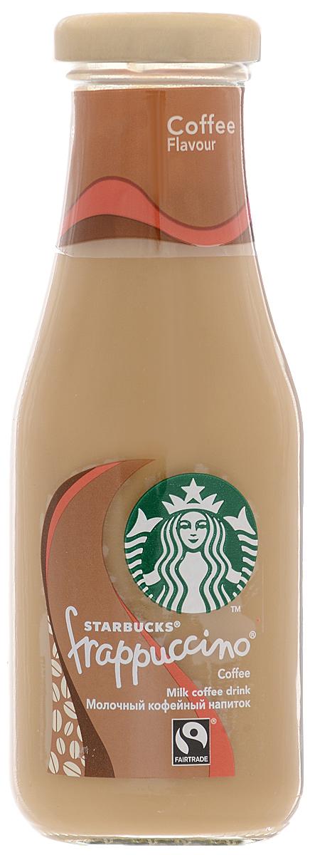 Starbucks Frappuccino Coffee, молочный кофейный напиток, 1,2%, 250 мл starbucks doubleshot espresso молочный кофейный напиток 2 6% 200 мл