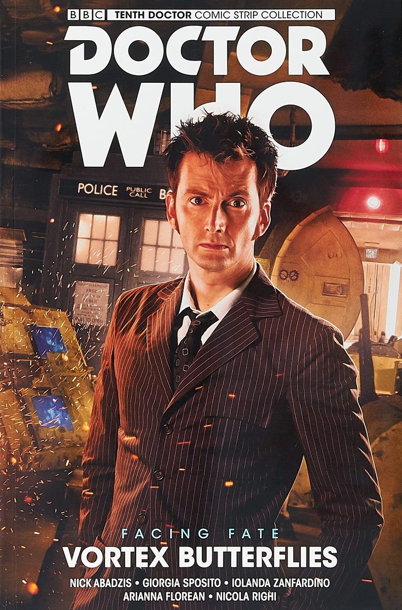 Nick Abadzis Doctor Who. The Tenth Doc