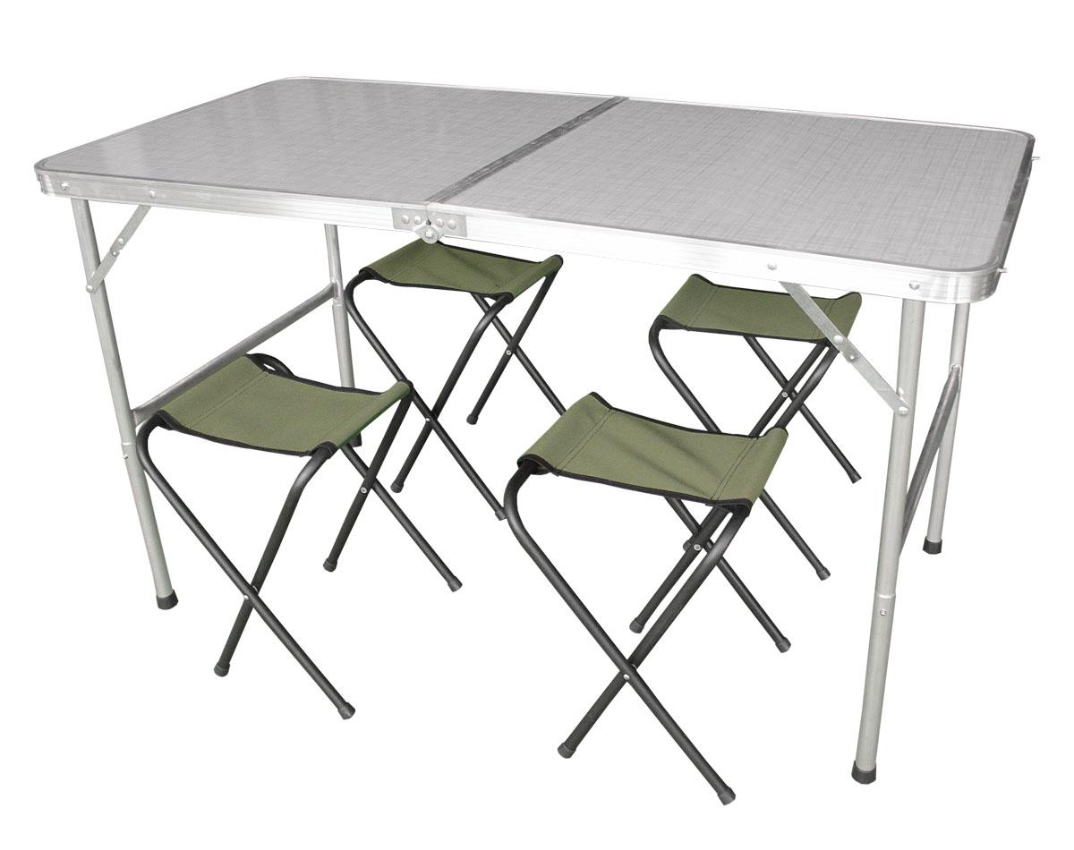 Набор складной мебели Woodland Picnic Table Set, 5 предметов