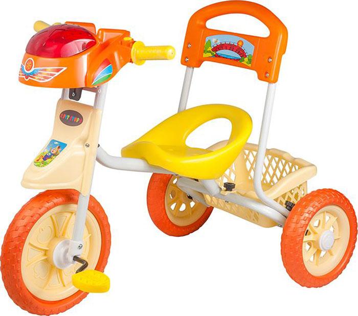 Pitstop Велосипед детский трехколесный цвет оранжевый MT-BCL1117002