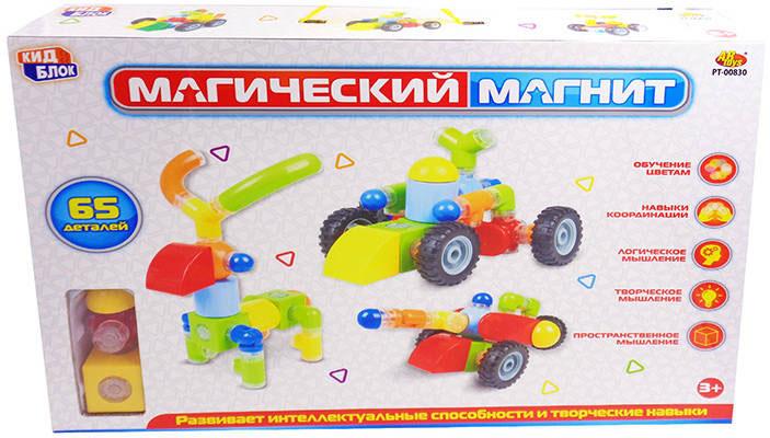Abtoys Конструктор Магический магнит PT-00830