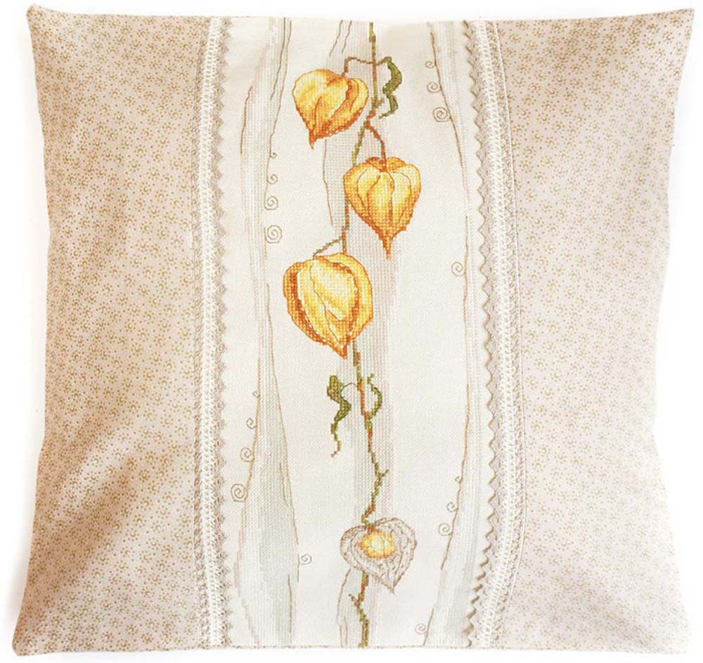 Набор для вышивания подушки крестом Марья Искусница