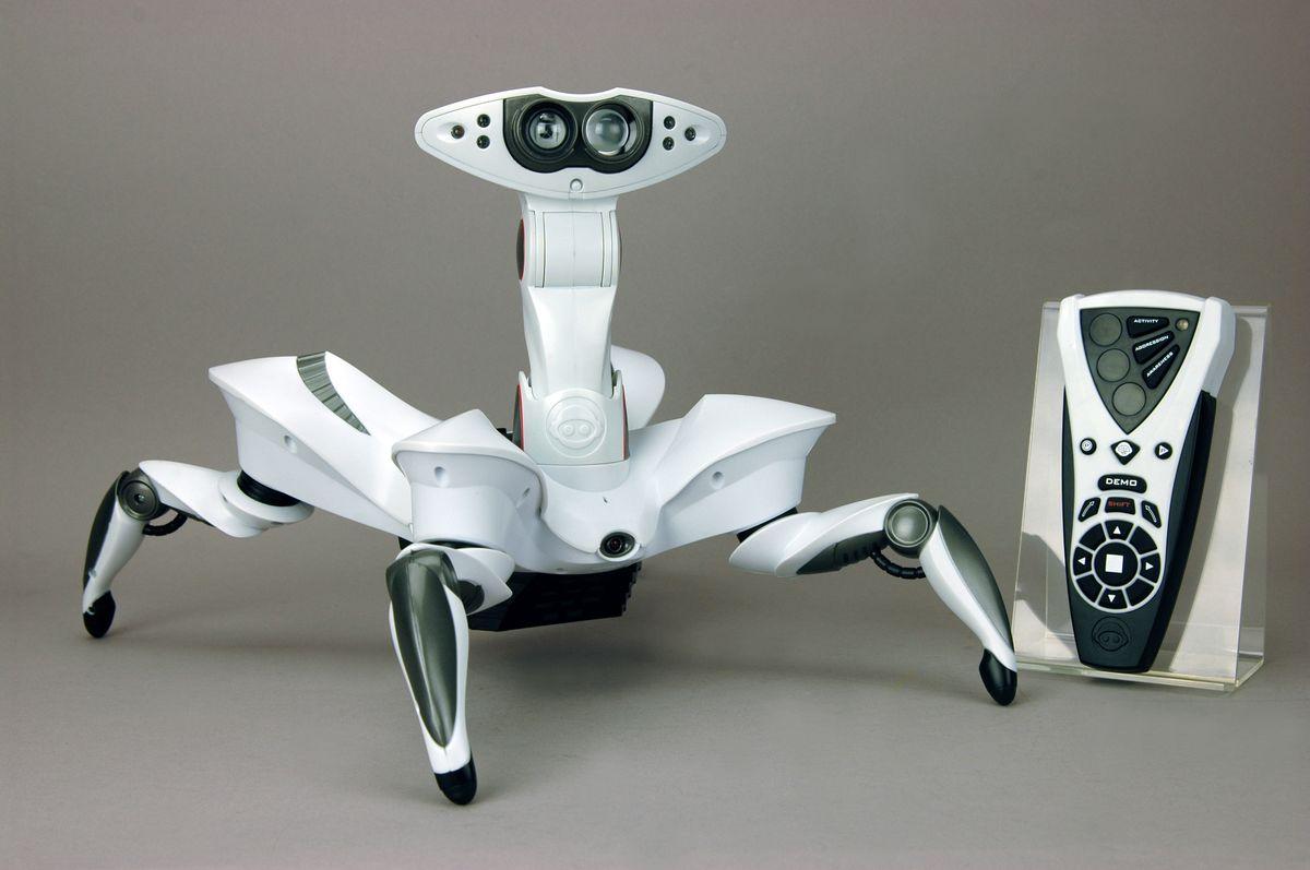 WowWee Робот радиоуправляемый Краб роботы wowwee робот краб